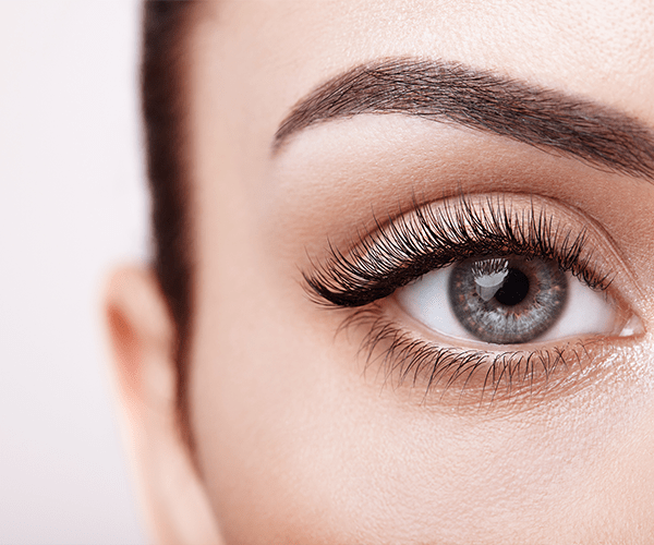 eye lashes and eyebrows treatment - miami med spa